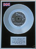 "ELGINS - 7"" Platinum Disc - HEAVEN MUST HAVE SENT YOU"